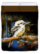 Kookaburra Dacelo Novaeguineae Duvet Cover