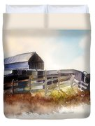 Dad' Farmhouse Duvet Cover