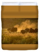 Daddy Bull And The Rut Duvet Cover