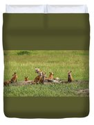 Daddy's Foxy Daycare Duvet Cover