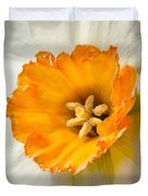 Daffodil Narcissus Flower Duvet Cover