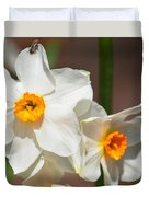 Daffodil Dazzle Duvet Cover