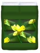 Daffodil Delight Duvet Cover