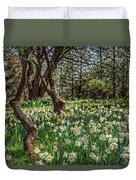 Daffodil Hill Gardens Duvet Cover