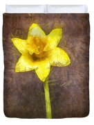 Daffodil Pencil Duvet Cover