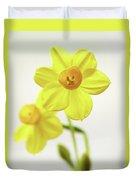 Daffodil Strong Duvet Cover
