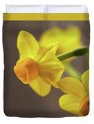 Daffodil Sunrise Duvet Cover