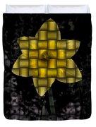 Daffodil Weave Duvet Cover