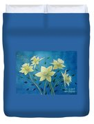 Daffodil Welcome Duvet Cover