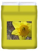 Daffodil Wood Composite Duvet Cover