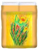 Daffodiles  Duvet Cover