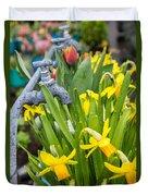 Daffodils 2 Duvet Cover