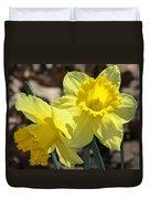 Daffodils In Spring Duvet Cover