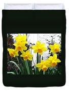 Daffodils Duvet Cover
