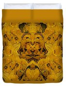 Daffy Daffodils Duvet Cover