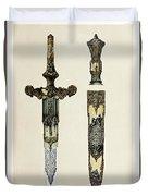 Dagger And Sheath Duvet Cover