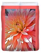 Dahlia Blush Duvet Cover