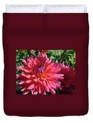 Dahlia Flowers Garden Art Prints Baslee Troutman Duvet Cover