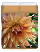 Dahlia In Bloom Duvet Cover