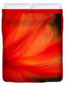 Dahlia On Fire Duvet Cover