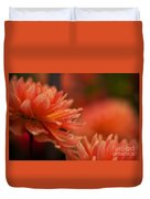 Dahlia Rainshower Duvet Cover