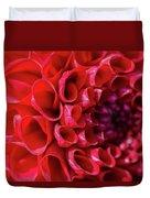 Dahlia Study 3 Duvet Cover