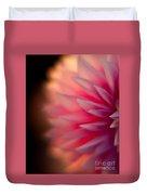 Dahlia Sunset Duvet Cover