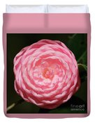 Dainty Pink Camellia Duvet Cover