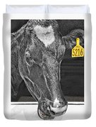 Dairy Cow Number 5216 Duvet Cover