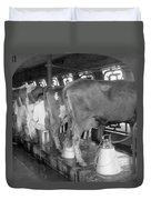 Dairy Farm, C1920 Duvet Cover