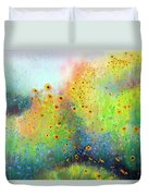 Daisies And Cornflowers Duvet Cover
