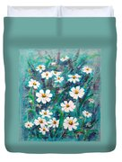 Daisies Golden Eyed Duvet Cover
