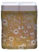 Daisies In The Morning Duvet Cover