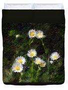 Daisy Day Fantasy Duvet Cover