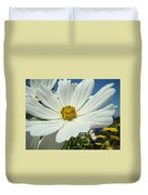 Daisy Flower Garden Artwork Daisies Botanical Art Prints Duvet Cover