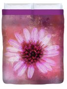 Daisy In Magenta Duvet Cover