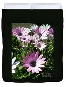 Daisy Patch Duvet Cover by Kaye Menner