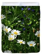 Daisy Patch  Duvet Cover