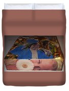 Daisy Side Show Duvet Cover