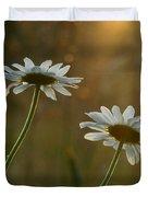 Daisy Sunset Duvet Cover