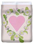 Daisy Valentine Duvet Cover