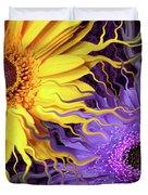 Daisy Yin Daisy Yang Duvet Cover by Christopher Beikmann