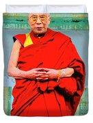 Dalai Lama Duvet Cover