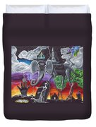 Dalinian Dreams On A Night In India Duvet Cover