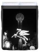 Dallas Pegasus Reunion 121517 Duvet Cover