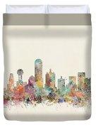 Dallas City Duvet Cover