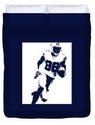 Dallas Cowboys Dez Bryant Duvet Cover