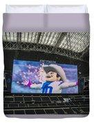 Dallas Cowboys Rowdy Duvet Cover