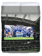 Dallas Cowboys Take The Field Duvet Cover