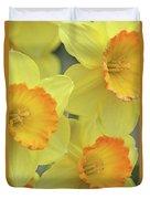 Dallas Daffodils 24 Duvet Cover